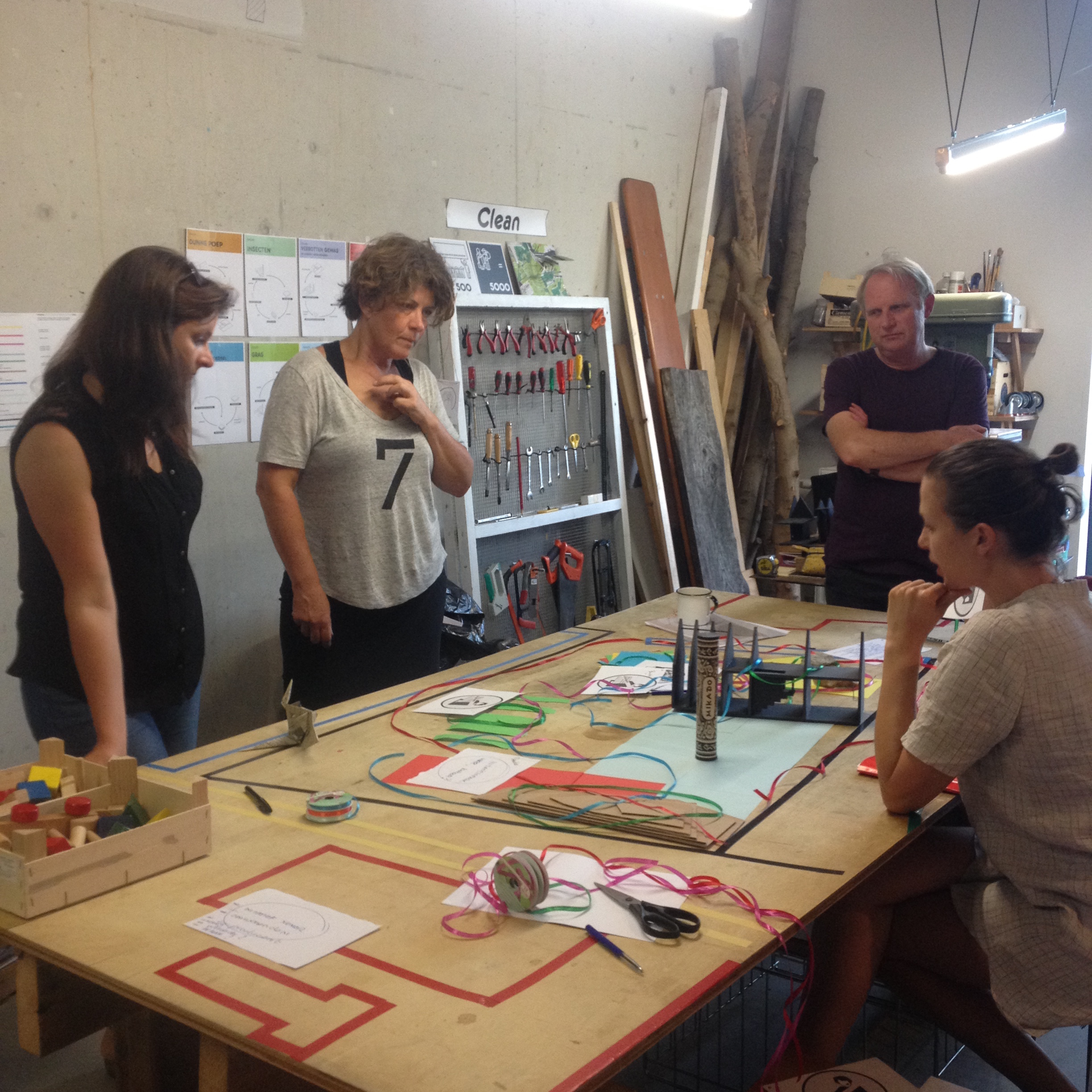 workshop co-productie 2015